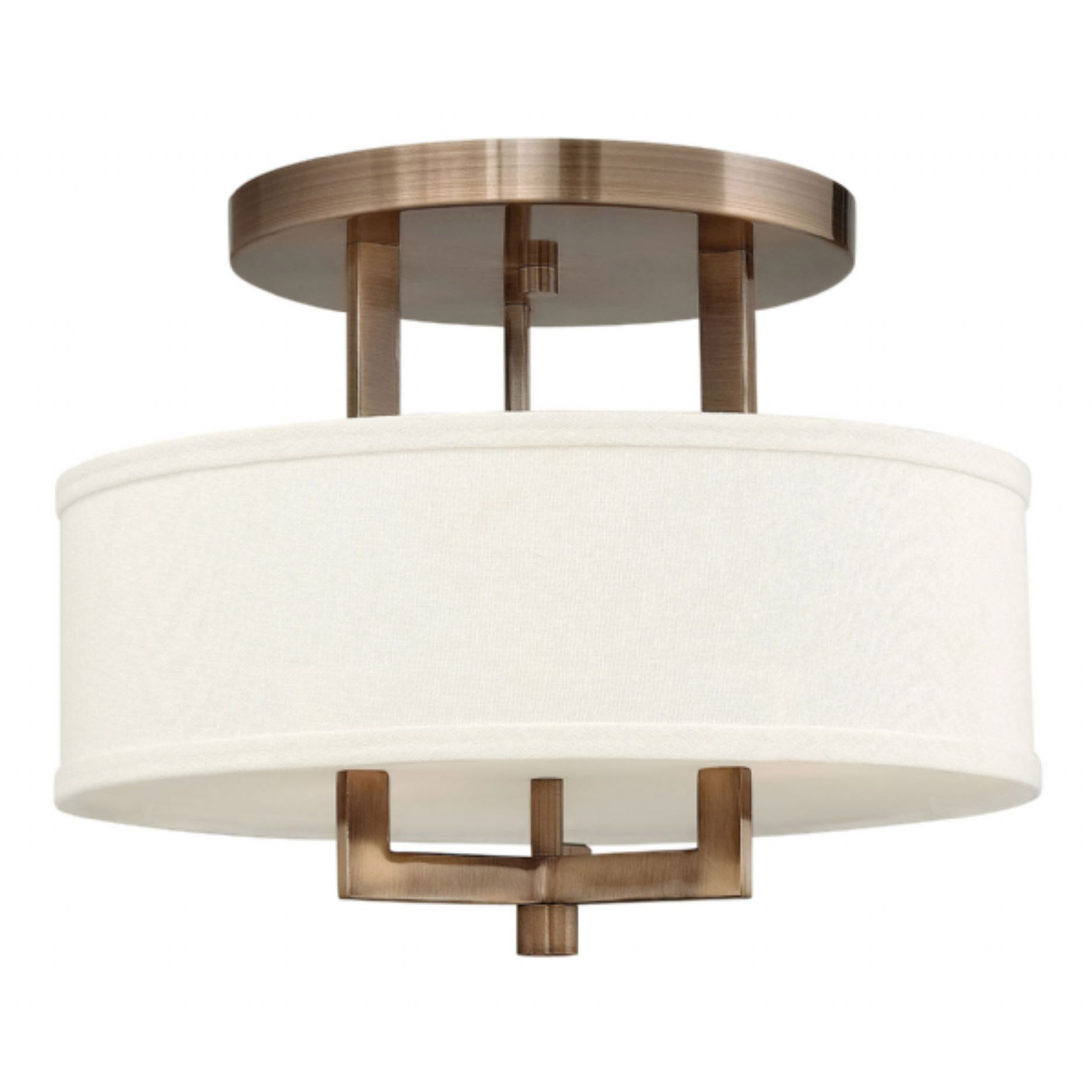 Inspiring semi flush ceiling light for home lighting design with brushed nickel semi flush ceiling light
