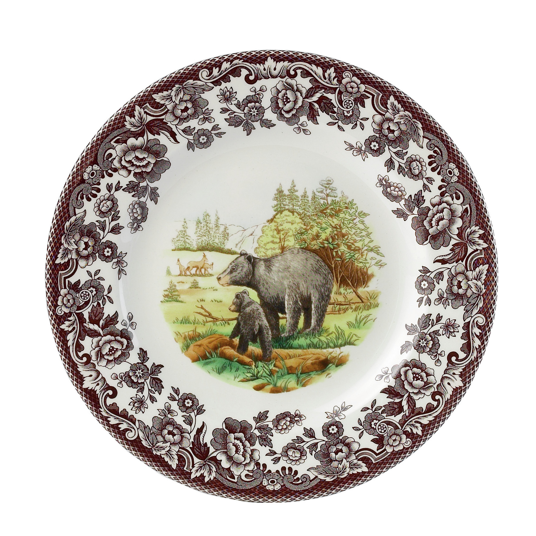 Inspiring spode woodland for dining room with spode woodland dinner plates