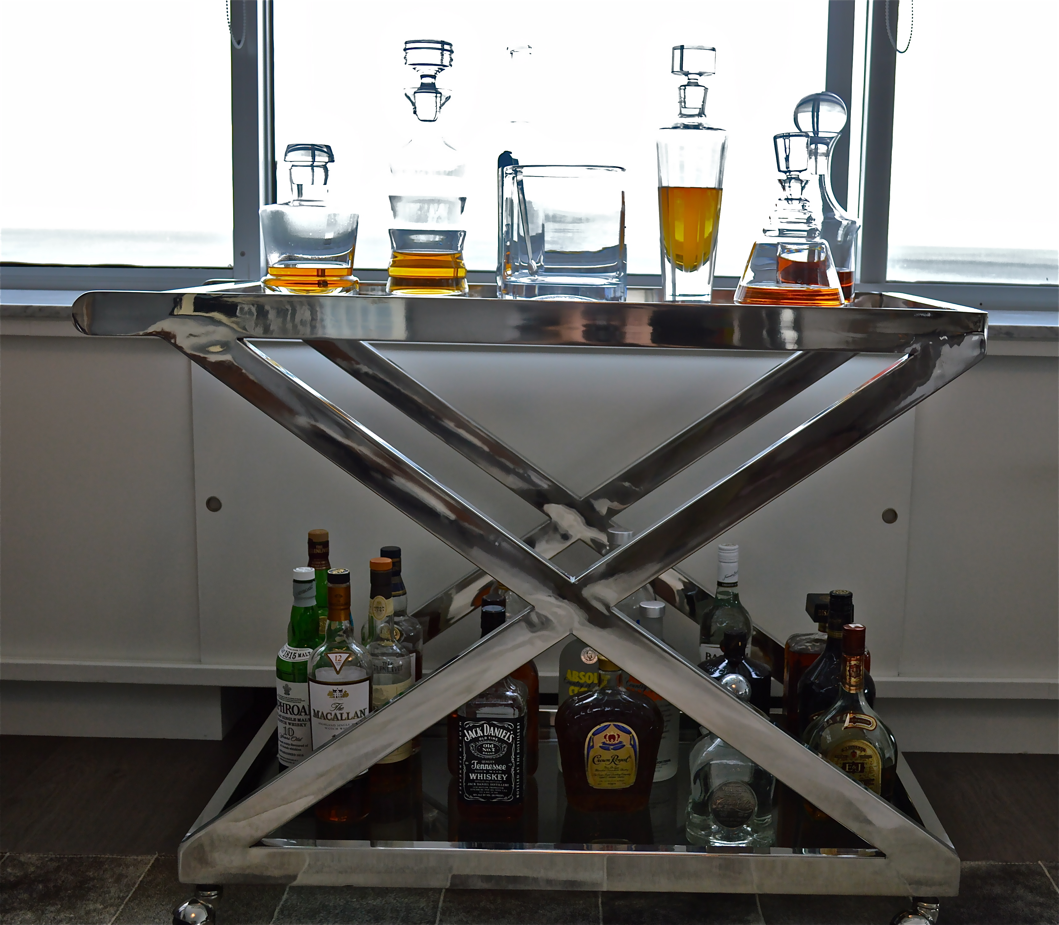 Interesting Bar Carts For Bar Furniture Ideas With Gold Bar Cart And Diy Bar Cart