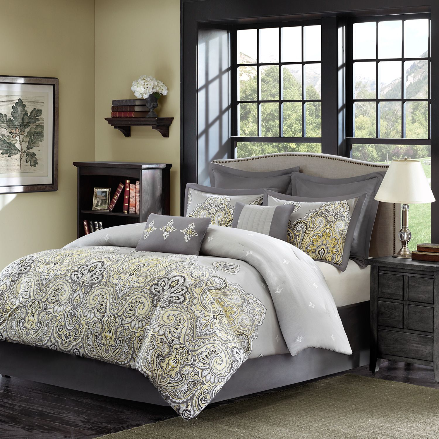 Interesting comforters sets for bedroom design with queen comforter sets