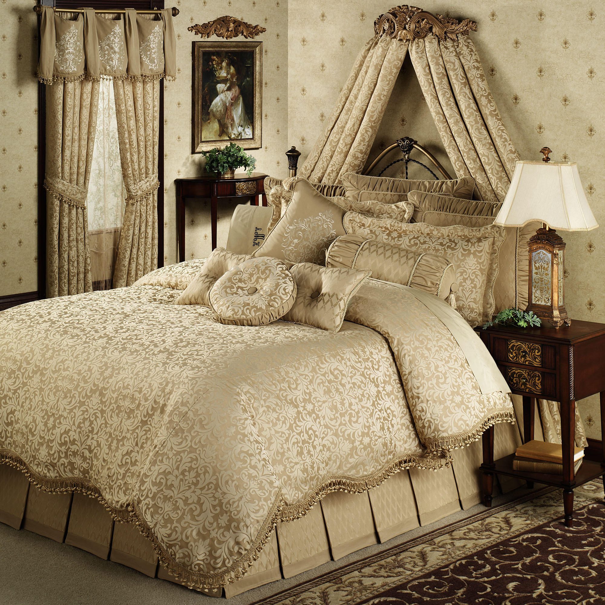 Interesting damask bedding for bed decorating ideas with damask bedding set and damask crib bedding