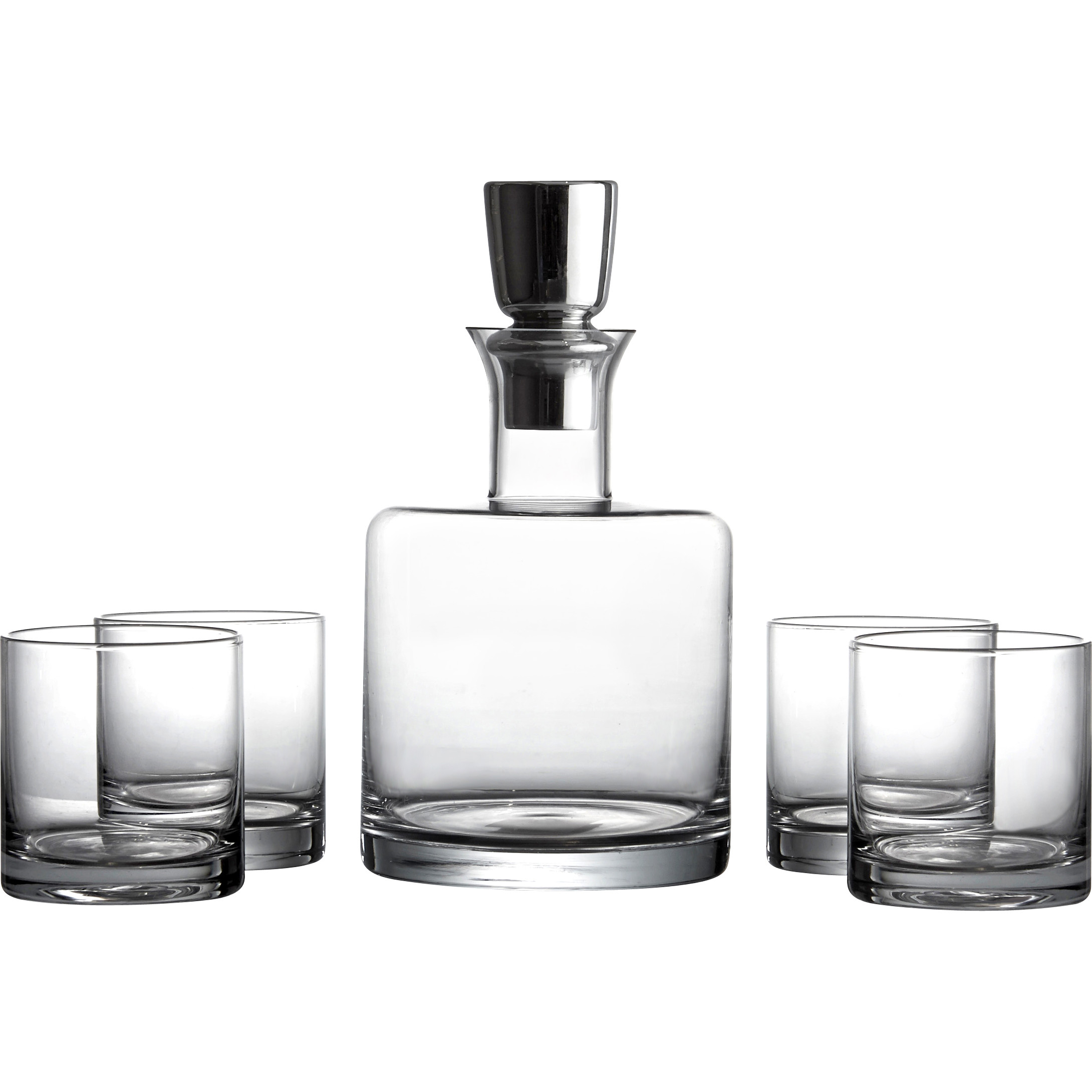 Interesting decanter set for dining sets ideas with crystal decanter set