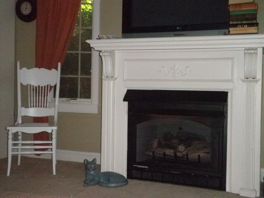 Interesting Fireplace Mantle For Interior Living Room With Electric Fireplace With Mantle