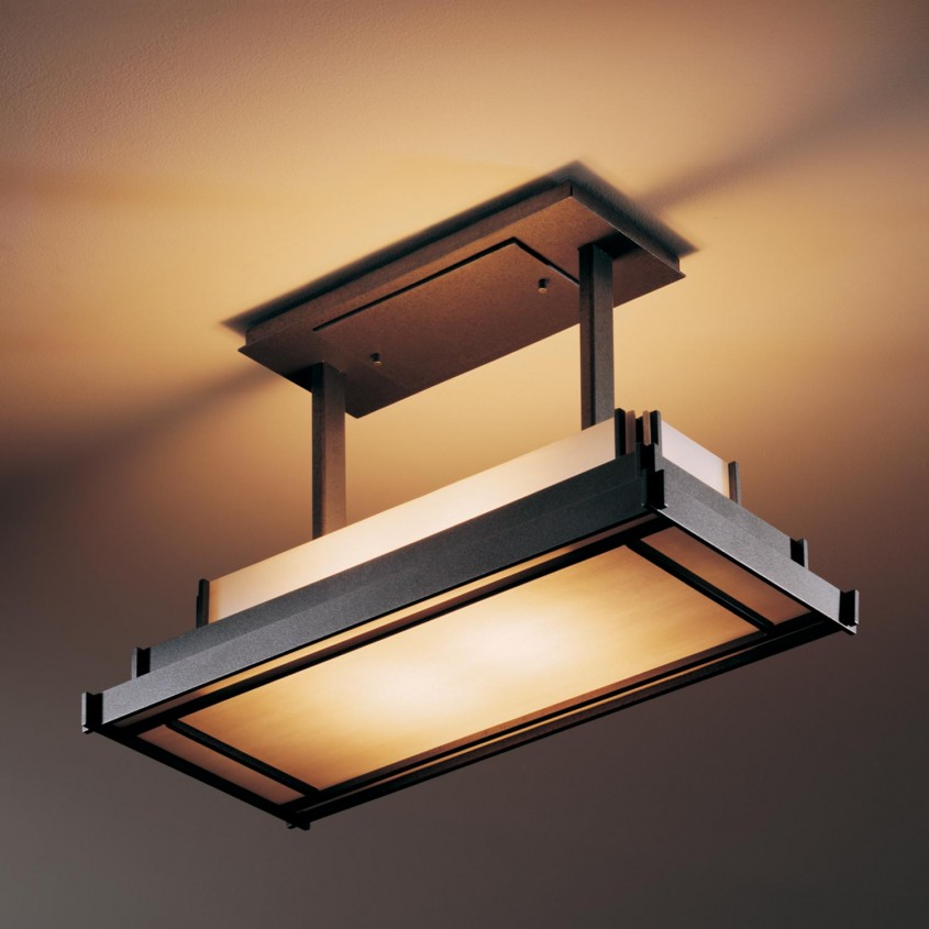 Interesting Semi Flush Ceiling Light For Home Lighting Design With Brushed Nickel Semi Flush Ceiling Light