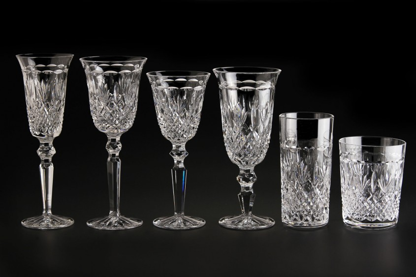 Interesting Waterford Crystal Patterns For Dining Sets Ideas With Waterford Crystal Glass Patterns
