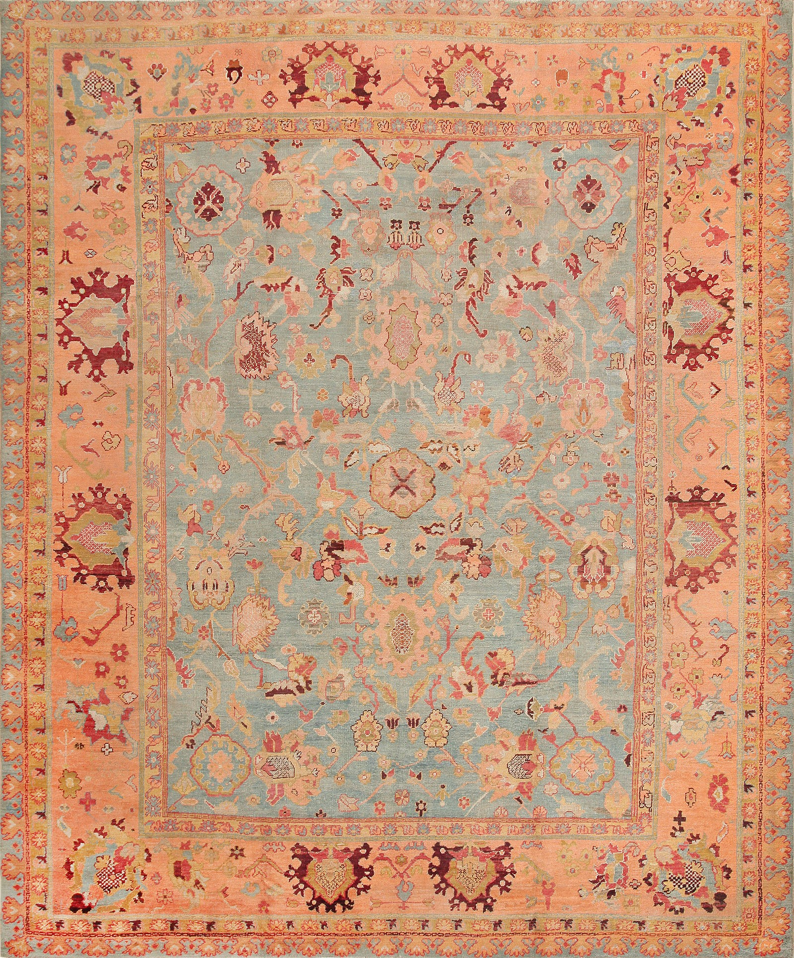 Magnificent oushak rugs for floorings and rugs ideas with antique oushak rugs