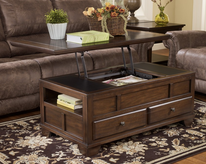 Magnificent Trunk Coffee Table With Lovely Flower On Unique Vase Centerpieces For Classic Home Furniture With Storage Trunk Coffee Table