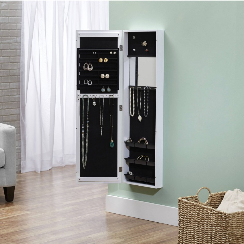 Marvellous Cheval Mirror Jewelry Armoire For Home Furniture Ideas With White Cheval Mirror Jewelry Armoire