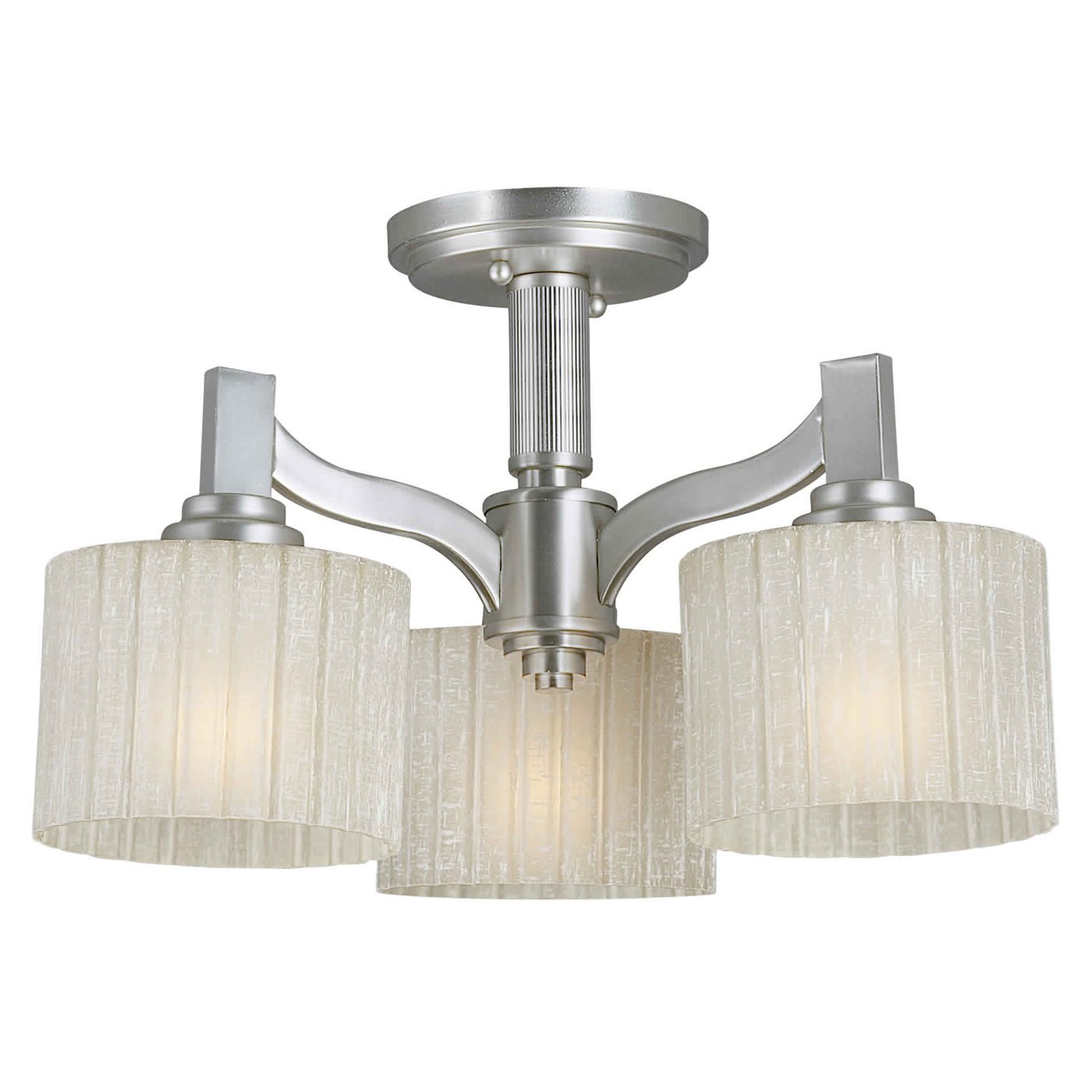 Marvellous semi flush ceiling light for home lighting design with brushed nickel semi flush ceiling light