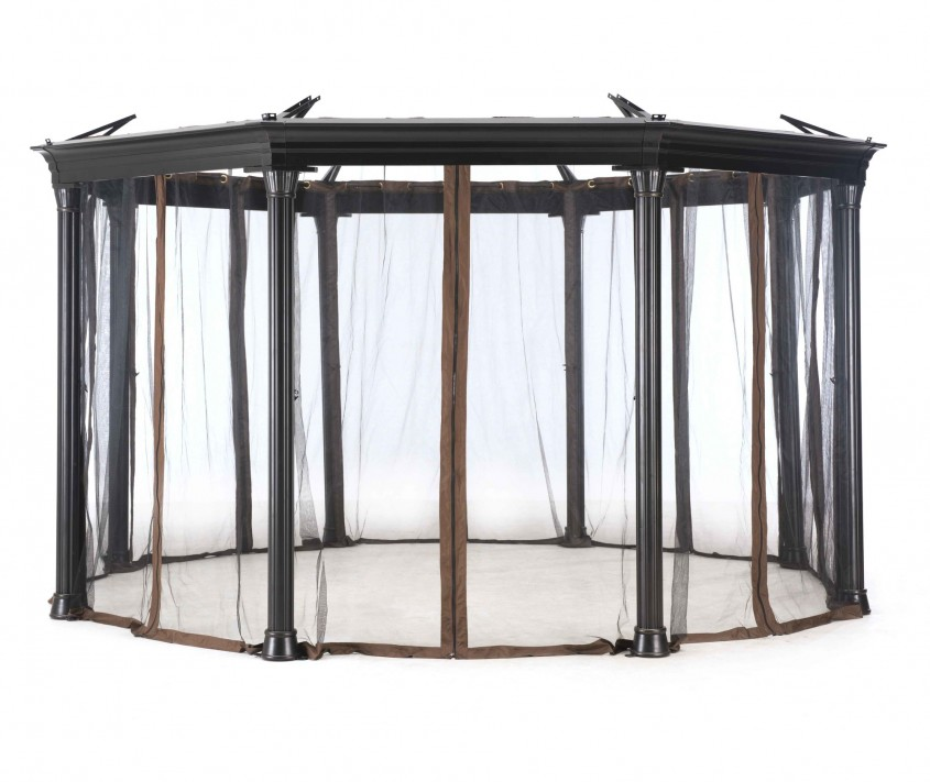 Marvellous Sunjoy Gazebo For Garden Ideas With Sunjoy Hardtop Gazebo And Sunjoy Grill Gazebo