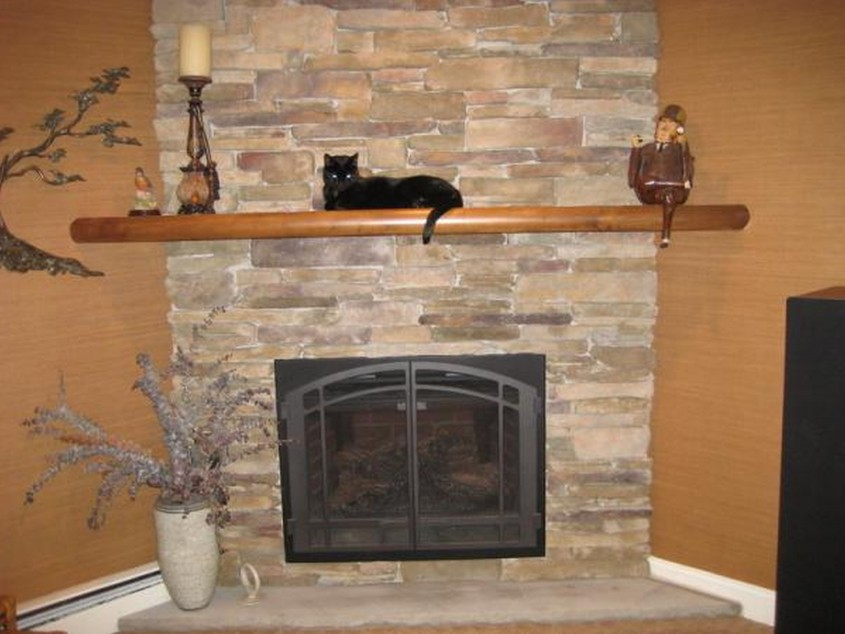 Mesmerizing Fireplace Mantle For Interior Living Room With Electric Fireplace With Mantle