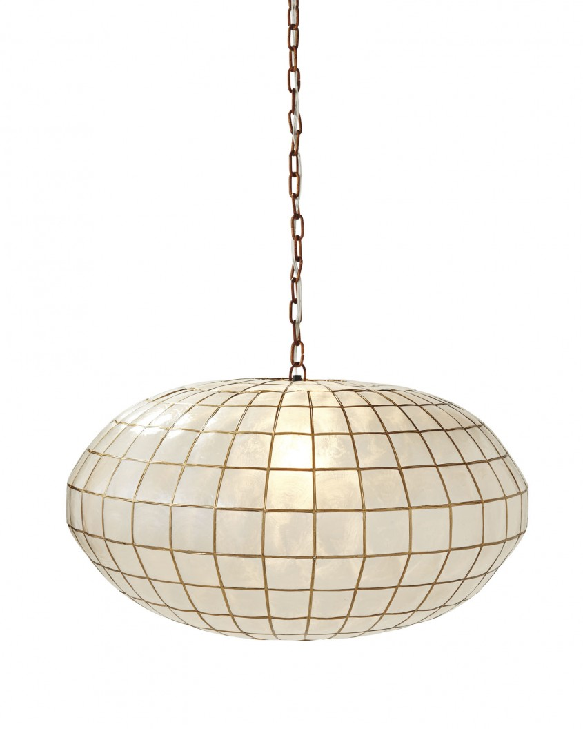 Nice Capiz Chandelier For Home Lighting Design With Rectangular Capiz Chandelier