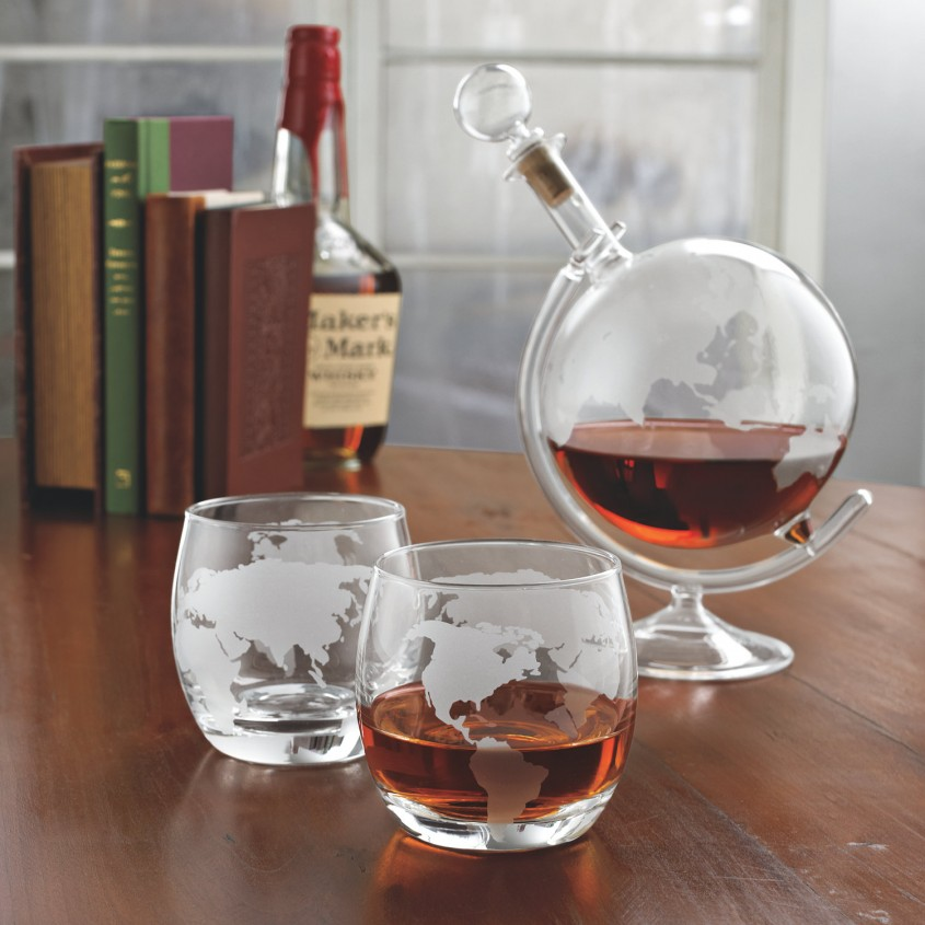Nice Decanter Set For Dining Sets Ideas With Crystal Decanter Set